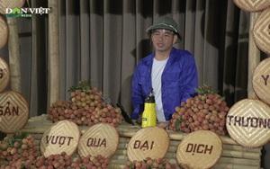 Video: Nghệ sĩ Xuân Bắc livestream bán 85 tấn vải thiều Lục Ngạn, bí xanh Bắc Kạn, mận Bắc Hà trong 1 giờ