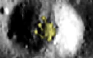 Thợ săn người ngoài hành tinh tuyên bố phát hiện UFO trên Mặt trăng