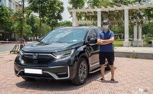 Chủ xe Honda CR-V 2021 đánh giá thẳng thật sau khi chạy hơn 3000 km
