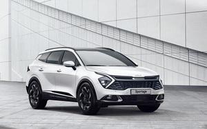 Kia Sportage 2022 hé lộ thiết kế, ra mắt vào cuối năm nay