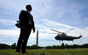 Video: Mật vụ của Biden gây bão khi đổ bộ xuống Cornwall bảo vệ Tổng thống dự G7