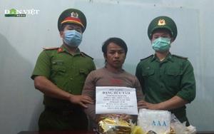 Kon Tum: Bắt quả tang đối tượng vận chuyển 2 kg ma túy