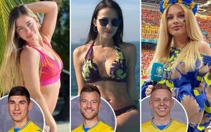 """Dàn WAGs của ĐT Ukraine khoe nhan sắc """"không phải dạng vừa đâu"""""""