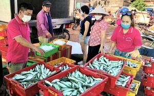 Trong lũ, người TP.HCM giúp người Quảng Bình, dịch tới, người dân Quảng Bình gom nông sản gửi vào TP.HCM