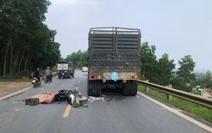 Tai nạn kinh hoàng giữa xe máy và xe đầu kéo, 1 người tử vong tại chỗ