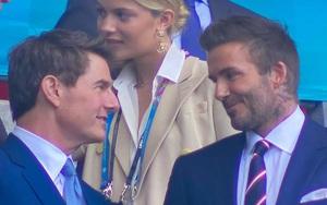 Beckham, Tom Cruise và dàn khách VIP cực kỳ lịch lãm trên khán đài sân Wembley