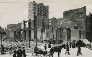Cảnh tượng kinh hoàng trong thảm họa động đất San Francisco 1906