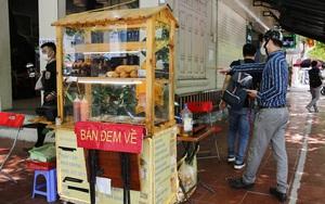 """Hà Nội: Vi phạm phòng, chống Covid-19 vẫn diễn ra dù hàng quán """"chỉ bán mang về"""""""