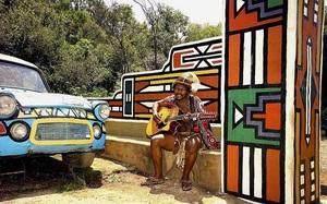 Nam Phi: Bộ tộc Ndebele nổi tiếng và hút khách du lịch bởi những sáng tạo này