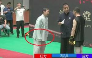 """Clip: Võ sĩ MMA đấm gục võ sư """"nổ"""" nhất Trung Quốc trong... 40 giây"""