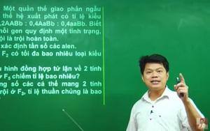 Phần ôn tập của một thầy giáo giống 80% đề Sinh học tốt nghiệp THPT: Bộ GD-ĐT nói gì?