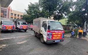 Sở NN&PTNT tỉnh Đồng Nai tặng 10 tấn rau củ cho TP.HCM và lập quầy hàng 0 đồng tặng rau cho bà con nghèo