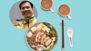 Olympic Tokyo 2021: Hoàng Xuân Vinh và các nhà vô địch ăn gì vào buổi sáng?