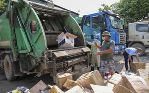Hà Nội: Tiêu hủy lượng lớn đông trùng hạ thảo, nước hoa, mỹ phẩm không rõ nguồn gốc tổng trị giá gần 2 tỷ đồng