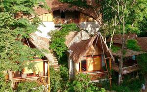 Trốn nắng nóng, oi bức ở khu nghỉ dưỡng view núi rừng siêu thích Mộc Châu