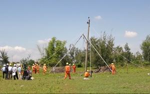 Công ty Điện lực Quảng Nam diễn tập phòng chống thiên tai – tìm kiếm cứu nạn năm 2021