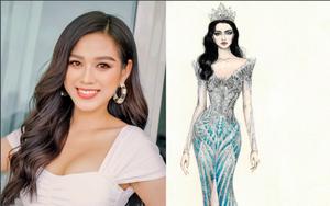 Hé lộ 5 mẫu thiết kế đầm dạ hội của Hoa hậu Đỗ Thị Hà tại chung kết Miss World 2021