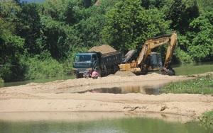 Bình Định: Bức xúc trước hàng loạt vi phạm tại mỏ khai thác cát trên sông Kôn