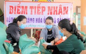 Giới trẻ Hà Tĩnh chuyển hàng chục tấn nhu yếu phẩm vào miền Nam tiếp sức chống dịch