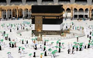 Ảnh: 60.000 tín đồ Hồi giáo sẽ đến Mecca hành hương giữa đại dịch Covid-19