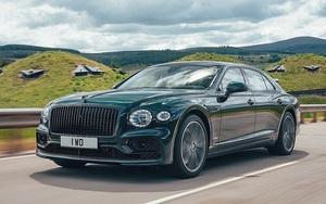 Bentley Flying Spur Hybrid - mẫu xe sang cực thân thiện với môi trường