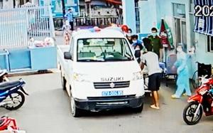 An Giang: Cảnh sát lái xe đưa sản phụ mang song thai đi sinh giữa lúc giãn cách xã hội