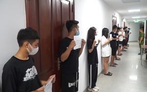 Nóng: Hàng chục thanh niên từ Bắc Ninh trốn kiểm dịch lên Bờ Hồ đua xe