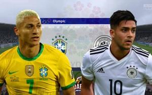 """Nhận định, dự đoán tỷ số Olympic Brazil - Olympic Đức: """"Xe tăng"""" vượt khó?"""