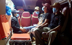 Thông tin mới về 4 ngư dân Phú Yên đi bộ từ Ninh Thuận về quê