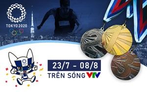 Xem trực tiếp các cuộc thi đấu Olympic Tokyo 2020 trên kênh nào của VTV?