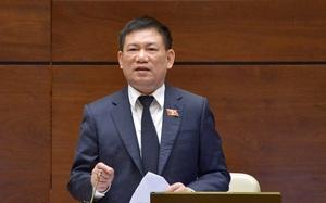 Bộ trưởng Hồ Đức Phớc trình Quốc hội phê chuẩn quyết toán ngân sách nhà nước năm 2019