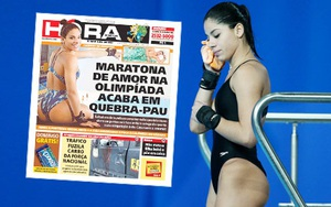 Sex cả đêm, Hoa hậu nhảy cầu Brazil bị đuổi khỏi… Olympic!
