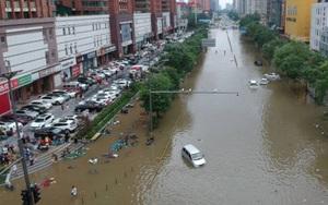 Lũ lụt kinh hoàng ở Trung Quốc khiến 33 người thiệt mạng, 3 triệu người nằm trong vùng nguy hiểm
