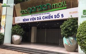Bệnh viện dã chiến số 5 Thuận Kiều Plaza trước giờ đón nhận bệnh nhân
