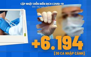 Diễn biến dịch Covid-19 tính đến 18h ngày 22/7: Thứ trưởng Bộ Y tế dự Hội nghị Bộ trưởng Y tế ASEAN về dịch Covid-19
