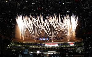 Loạt hình ảnh ấn tượng nhất tại lễ khai mạc Olympic Tokyo 2020
