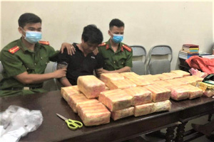 Cõng 31 kg ma túy vào Nam để nhận 20 triệu đồng