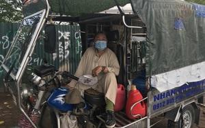 Hà Nội: Lao động tự do vẫn ra đường mưu sinh trong ngày đầu giãn cách xã hội