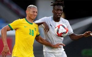 Kết quả bóng đá nam Olympic Tokyo 2020: Olympic Brazil mất điểm