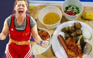 Cử tạ Olympic Tokyo 2020: VĐV Hoàng Thị Duyên ăn gì trước ngày thi đấu?