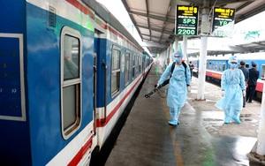 Đường sắt dừng bán vé tàu cho khách đi/đến ga Hà Nội
