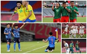 Lịch thi đấu và phát sóng trực tiếp bóng đá nam Olympic 2020 ngày 25/7