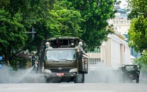 Hà Nội: Phun khử khuẩn 10 phường phố cổ và quanh hồ Hoàn Kiếm
