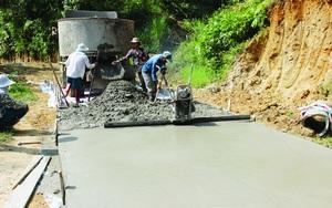 Xín Mần vượt khó hoàn thành  tiêu chí giao thông  trong xây dựng nông thôn mới