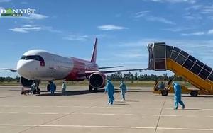 Video: TT-Huế đón 239 công dân từ TP.HCM về địa phương bằng máy bay
