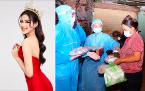 """3 Hoa hậu Đỗ Thị Hà, Đỗ Mỹ Linh, Lương Thùy """"tiếp lửa"""" cho người dân nghèo ở Hà Nội"""