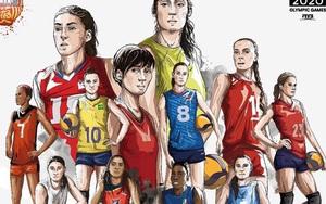 VĐV bóng chuyền nữ nào tham dự nhiều kỳ Olympic nhất?