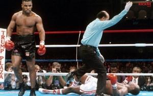 """Mike Tyson """"trả thù"""" cho Muhammad Ali, đánh đối thủ... nhập viện"""