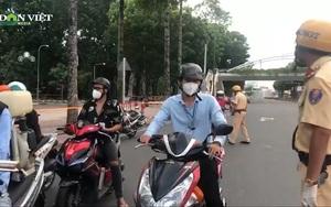 TP. HCM: Chỉ tập trung nhắc nhở, khuyến cáo người dân trong ngày đầu tiên áp dụng việc không ra đường sau 18h
