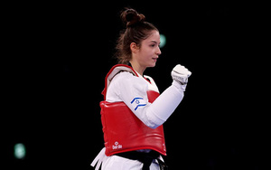 Vẻ đẹp thần tiên của bóng hồng Taekwondo gây sốt tại Olympic Tokyo 2020